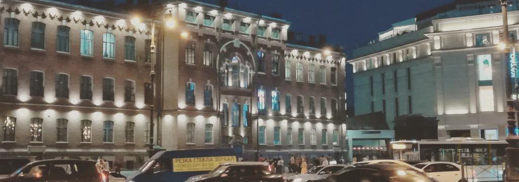 geolighting, фасадная подсветка, подсветка фасада, освещение фасада, РЖД