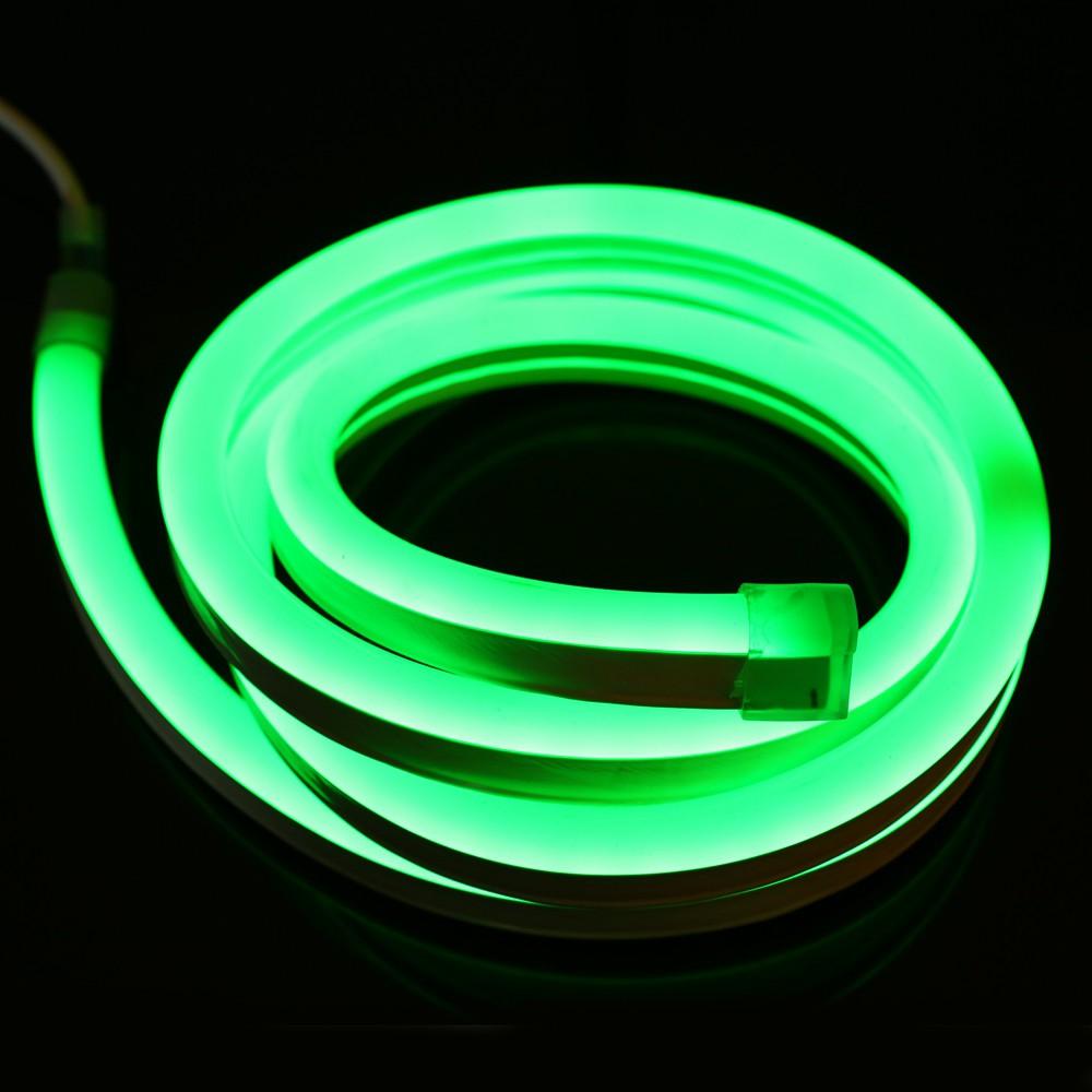 гибкий неон зелёный