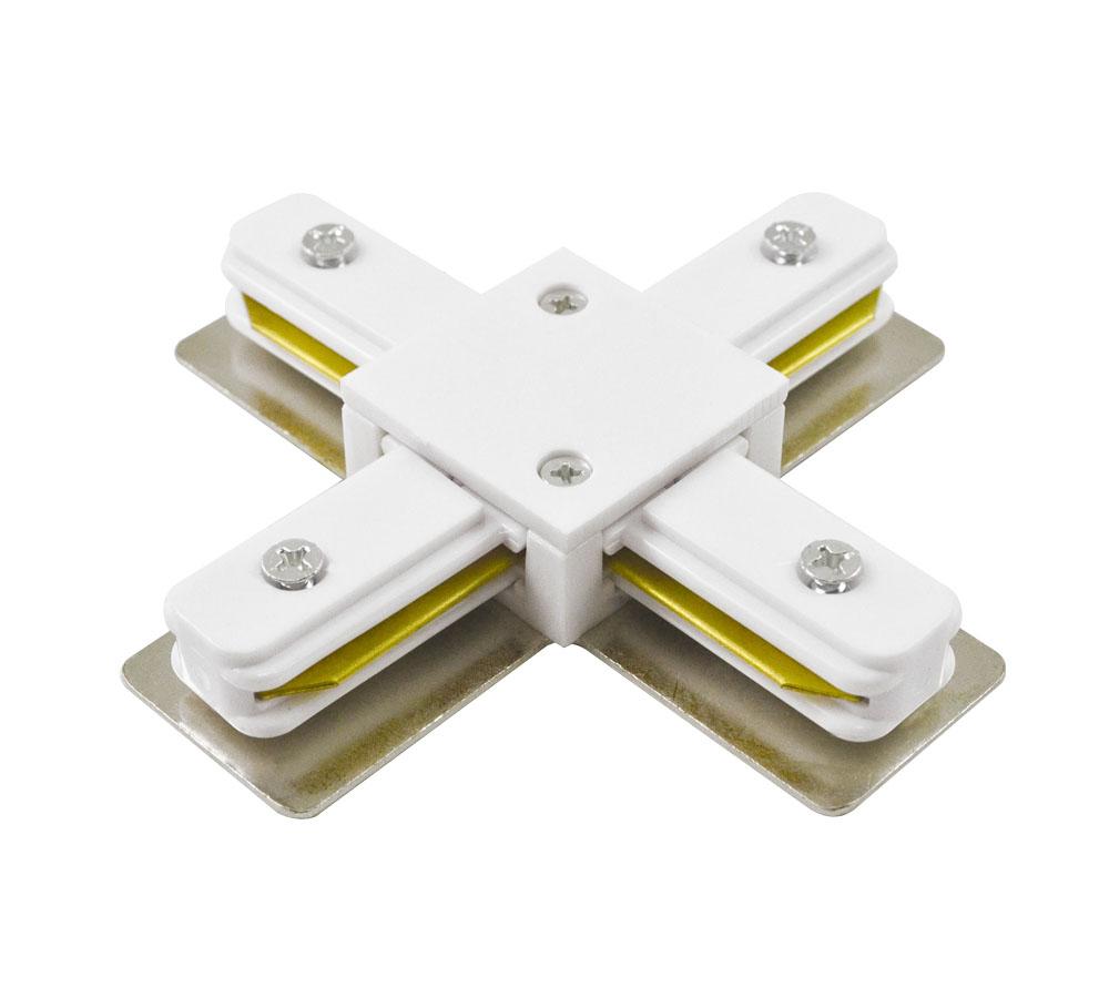 Коннектор крестовой для шинопровода